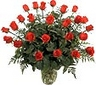 A bouquet of deluxe 15 roses roses surrounded by greenery, that will make your loved one to feel very special!!!